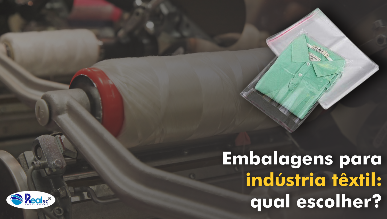 embalagem para industria textil