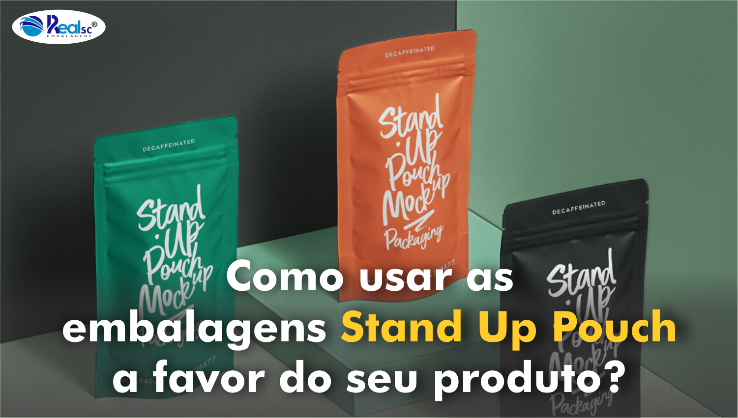 embalagem stand up pouch